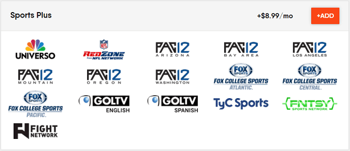 Sports Plus Package