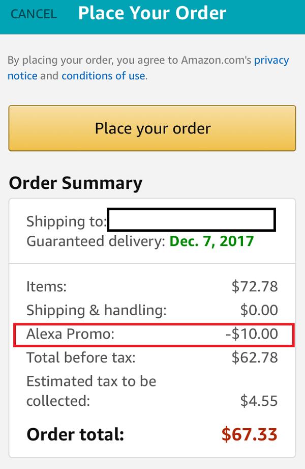 Alexa $10