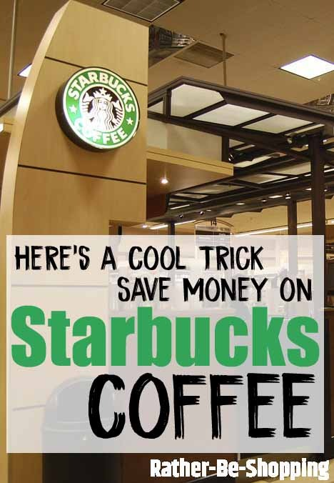 Buy Coffee from Starbucks Cafés (Inside Grocery Stores) and Save BIG