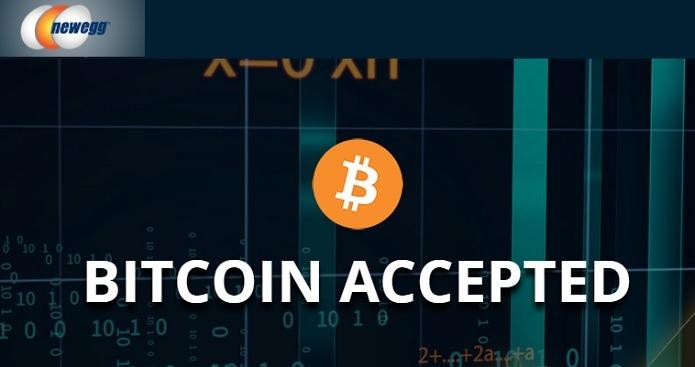 NewEgg Accepts Bitcoin