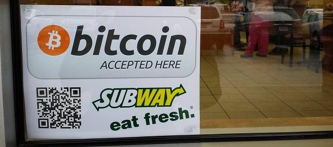 Subway Accepts Bitcoin