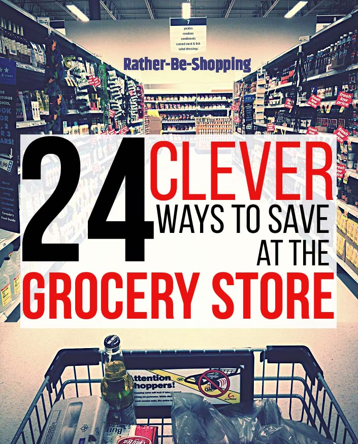 24 Clever Tricks to Save Money at the Grocery Store