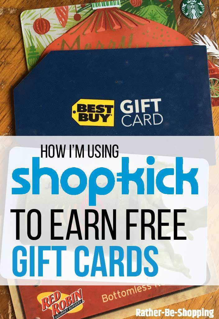 How I'm Using ShopKick to Earn Free Gift Cards (With Little Effort)