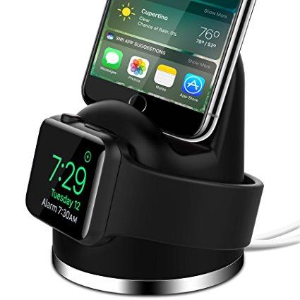 OLEBR Apple 2-in-1 Charging Dock
