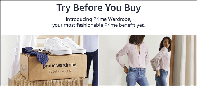 Try On Items at Home