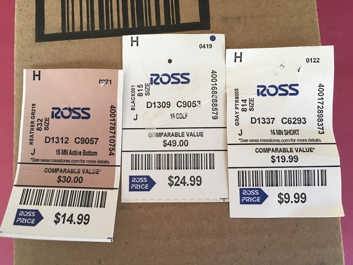 Ross Price Tags