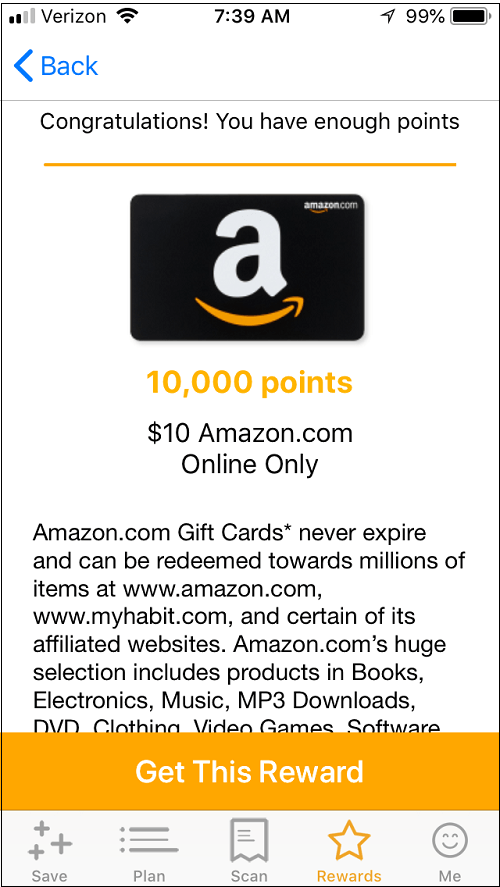 Free Amazon gift cards with Fetch Savings