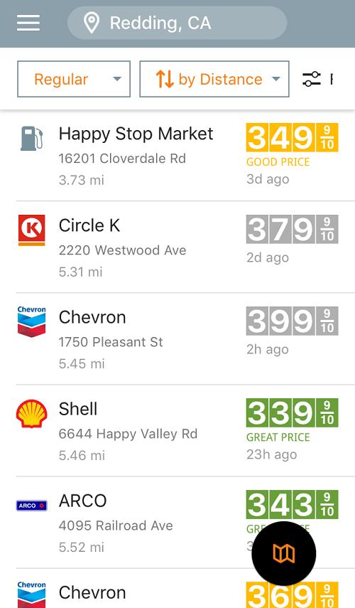 Gas Guru App