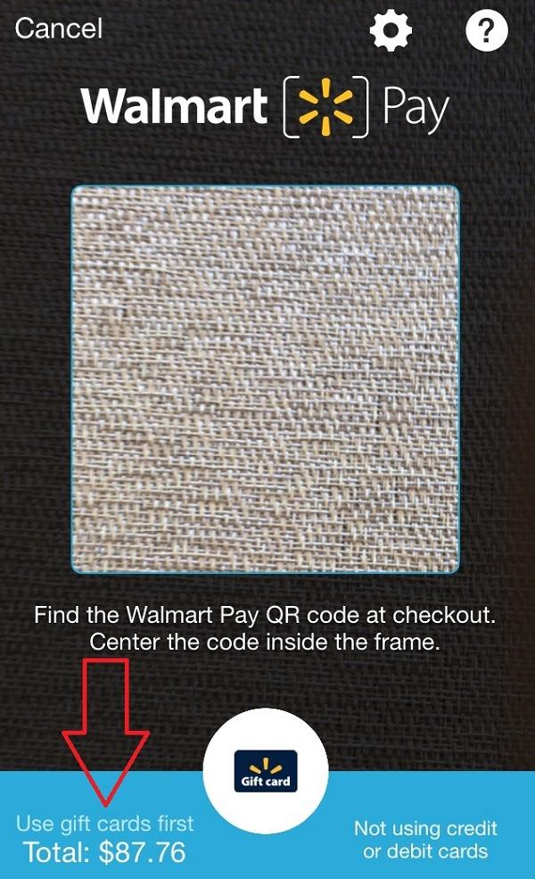 Scan Your Walmart Receipt
