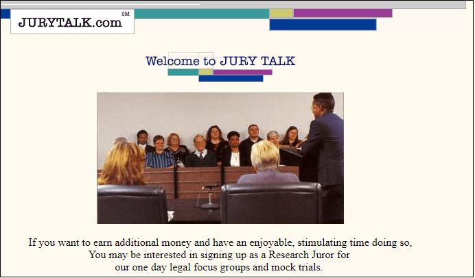 Serve on an Online Jury