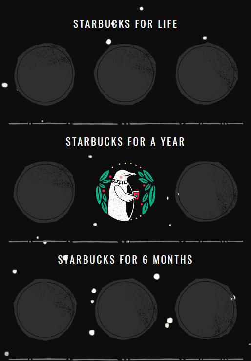 Starbucks Gameboard