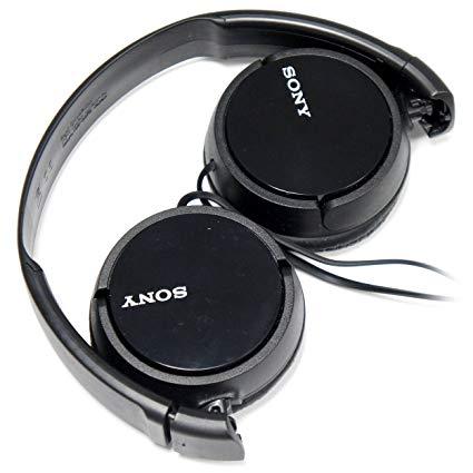 Sony Headphones with Adjustable Headband and Swivel Earcups