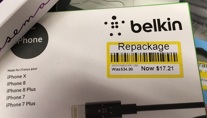 Target Repackage Tag