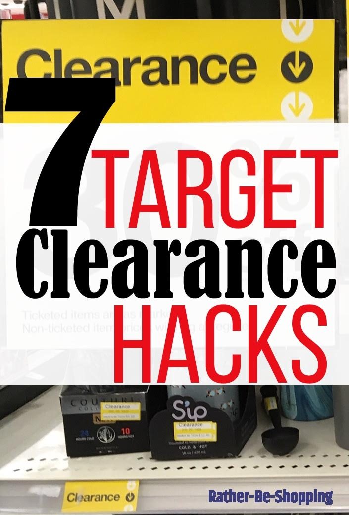7 Target Clearance Tips: Learn How to Save BIG at Tarzhay