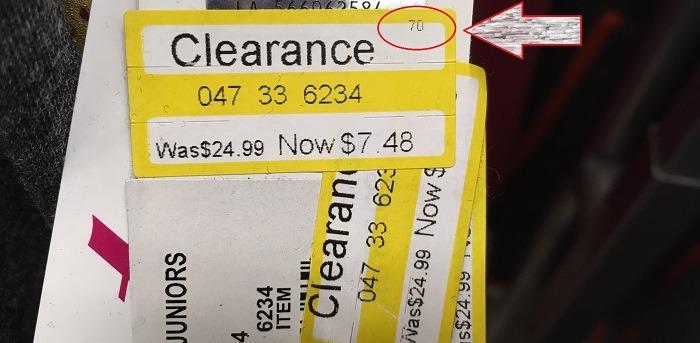 Target Price Tag