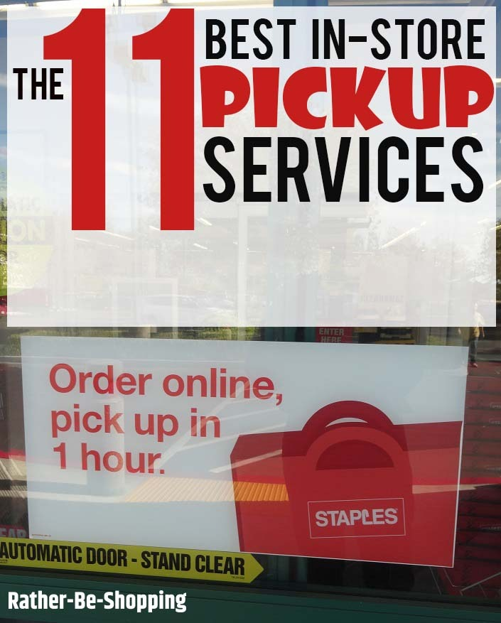 In-Store Pickup Services: These 11 Retailers Make the Grade