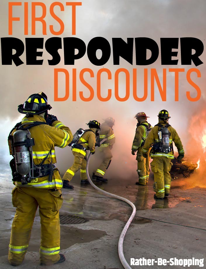 First Responder Discounts: All 22 Popular Stores That Offer Them