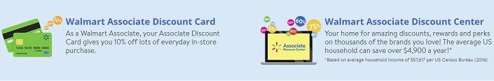 Walmart Discount Employee Card