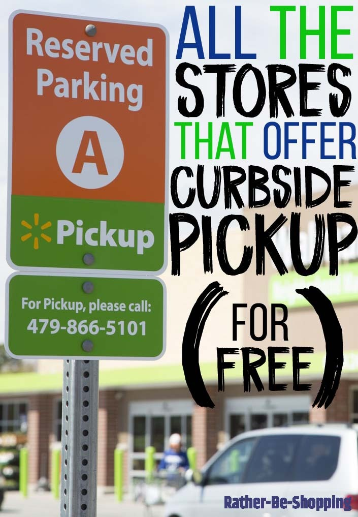 The 13 Major Stores That Offer Free Curbside Grocery Pickup