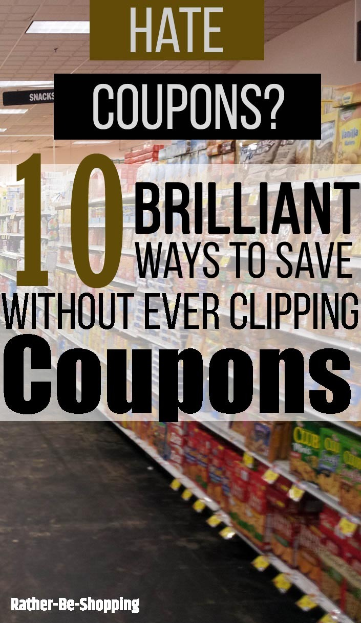 10 Brilliant Ways to Save at the Grocery Store Without Clipping Coupons
