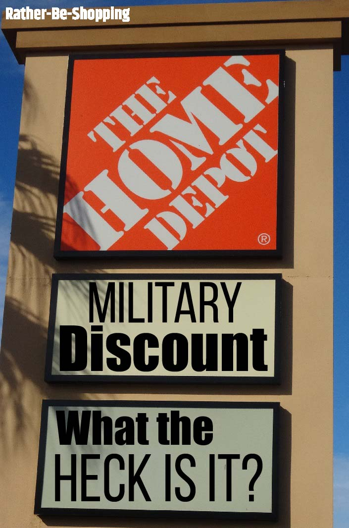 The Home Depot Military Discount: Time to Cut Through the Confusion