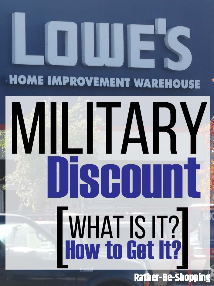 Lowe's Military Discount: If You Served, It's a No-Brainer Way to Save