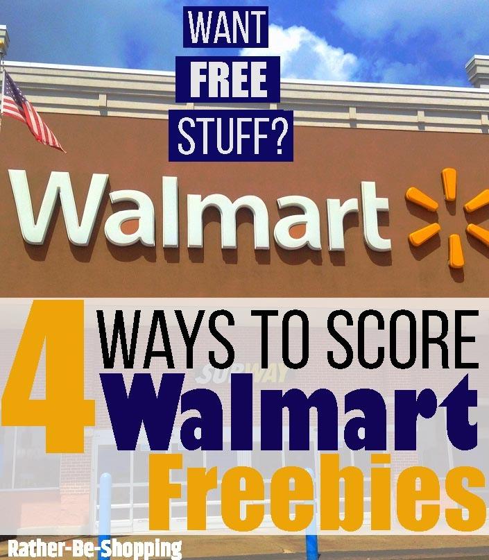 Walmart Free Samples: 4 Ways to Score Freebies from Wally World