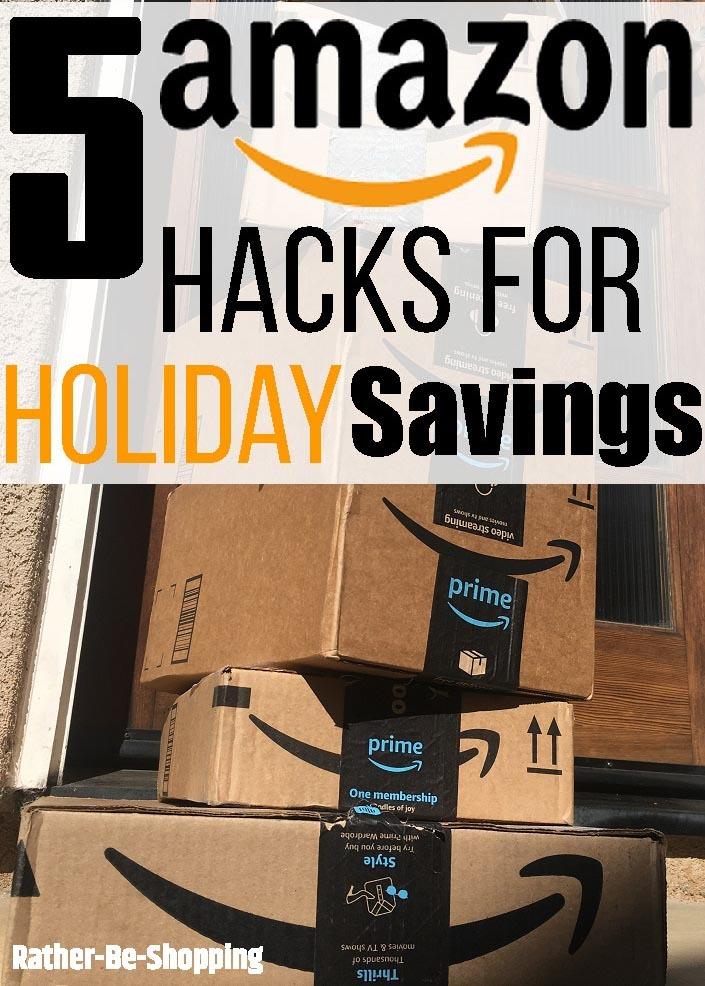 5 Must-Do Amazon Hacks for Big Holiday Savings