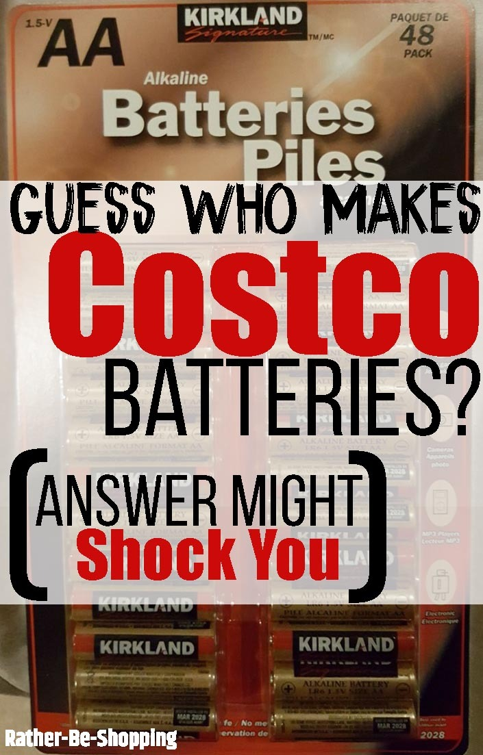 Guess Who Makes Costco Batteries? (Answer Might Shock You)