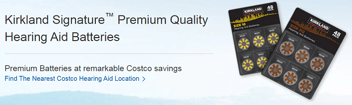 Costco Hearing Aid Battery