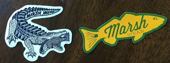Marsh Stickers