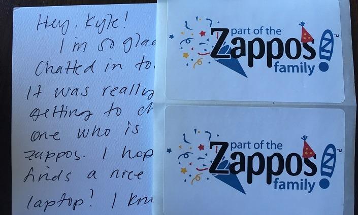 Zappos Free Sticker