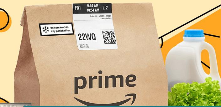 Amazon Fresh Now FREE With Your Amazon Prime Membership