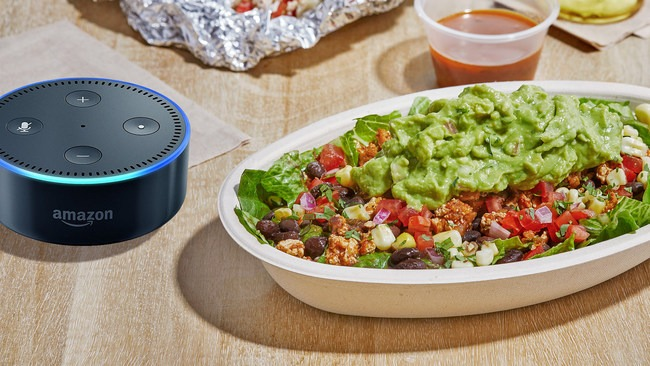 You Can Now Reorder Chipotle Chow with Your Amazon Echo