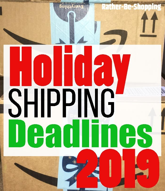 Holiday Shipping Deadlines: EVERYTHING You Need to Know (Amazon Too)