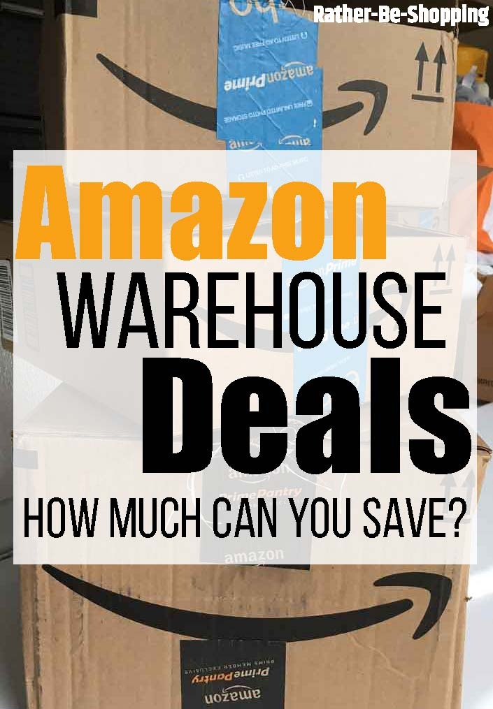 Don't Forget About Amazon Warehouse Deals for BIG Bargains