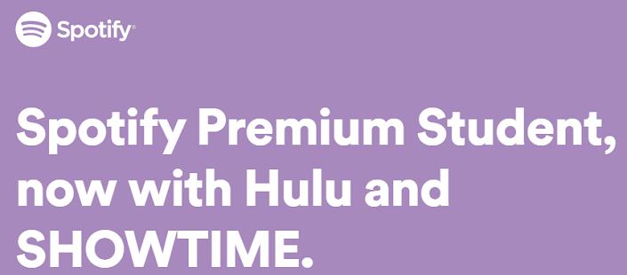 Spotify gives you free Hulu
