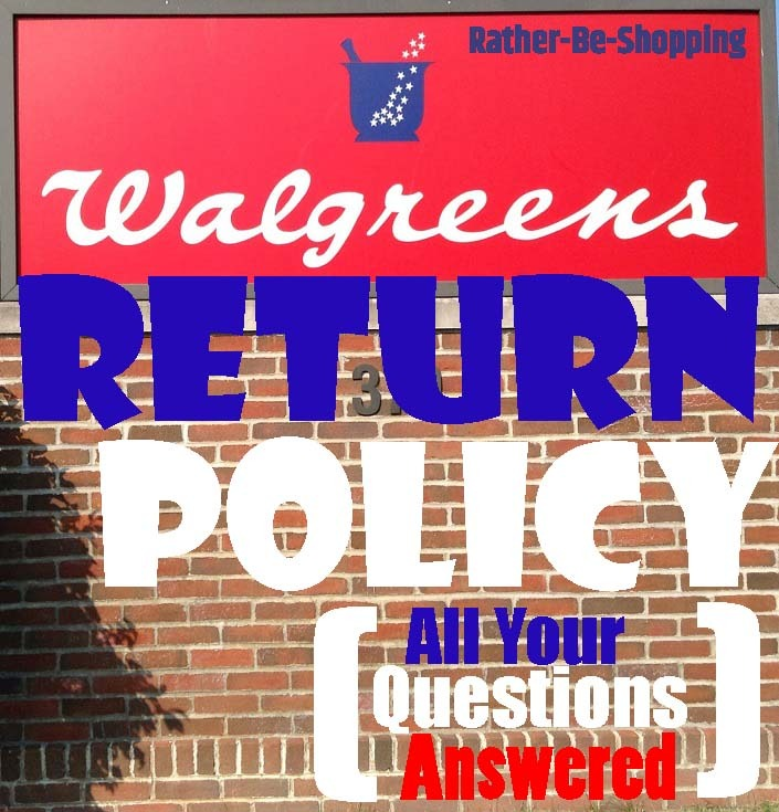 Walgreens Return Policy: Here's Exactly How It Works