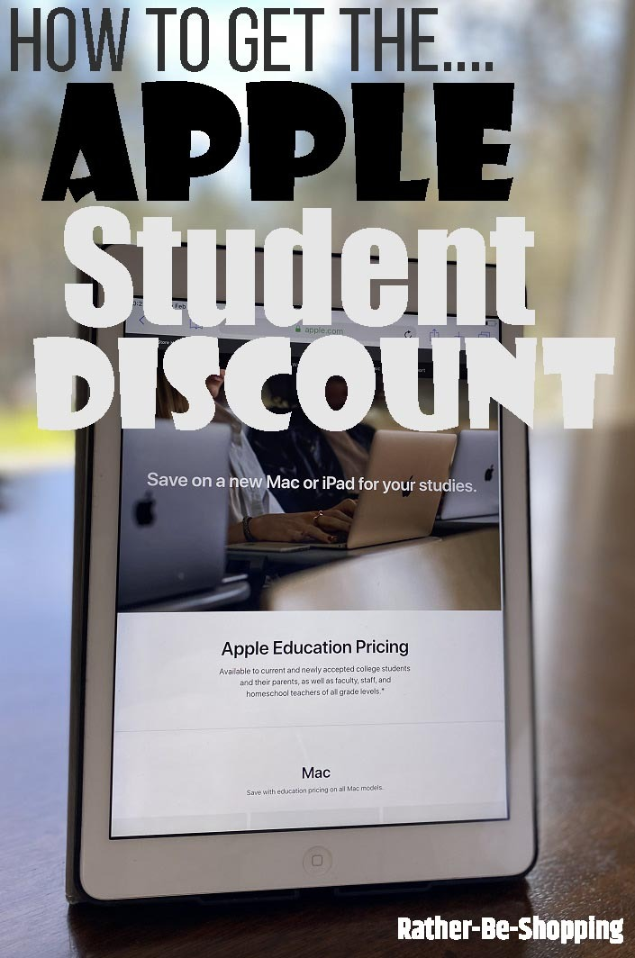 Apple Student Discount: What Is It and How Do You Get the Savings?