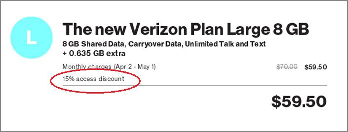 Teacher Discount with Verizon