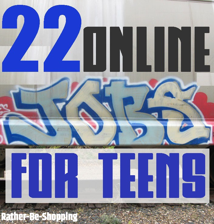 22 Online Jobs for Teens That Pay REAL Money