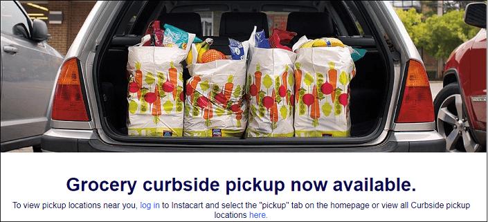 Aldi Grocery Curbside