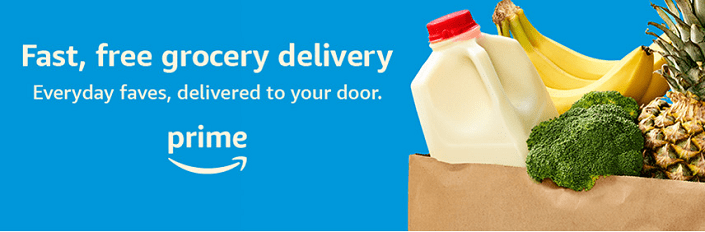 Amazon Prime Free Grocery Delivery