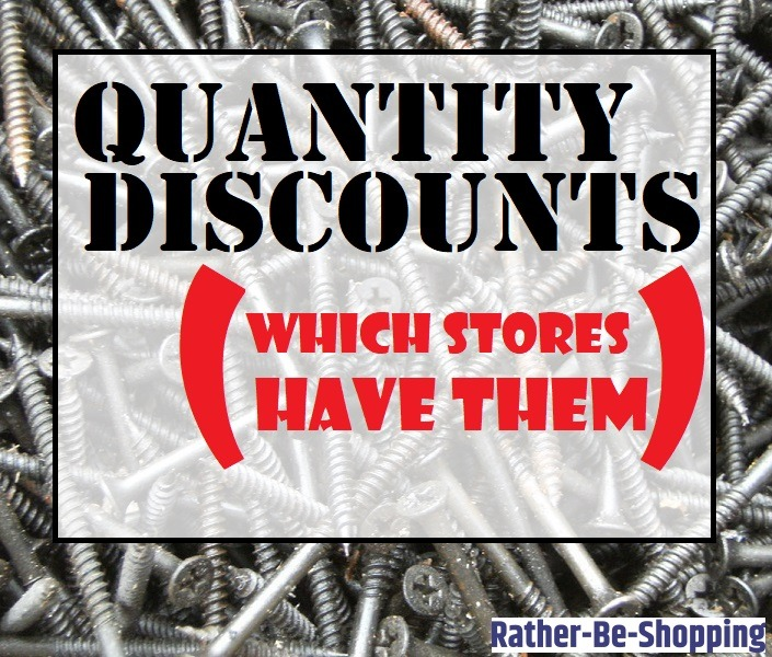 Bulk Buying: All The Stores That Offer Quantity Discounts