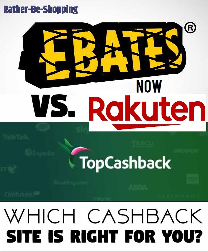 Rakuten Vs. TopCashBack Review: Which Should You Use and Why?
