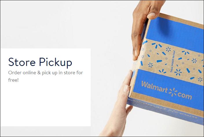 Walmart Store Pickup