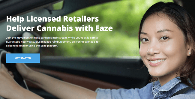 Eaze delivery jobs