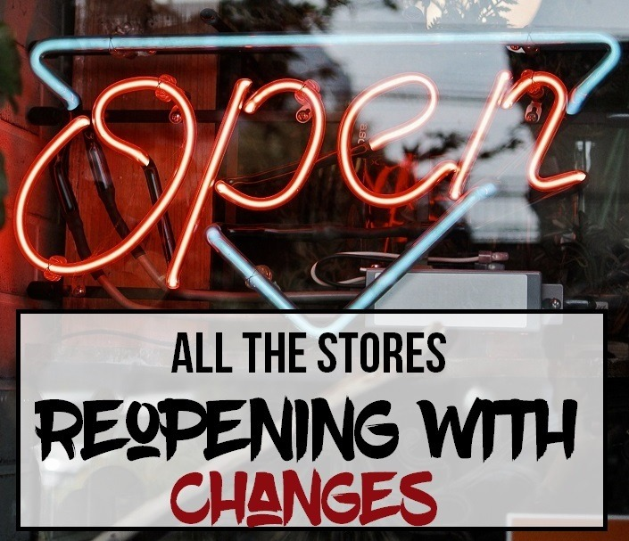 These 16 Major Stores Are Reopening With Changes