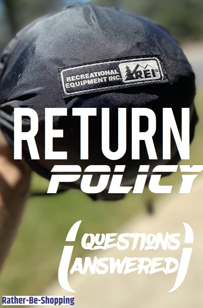 REI Return Policy: Make Your Next Return a Walk in The Woods