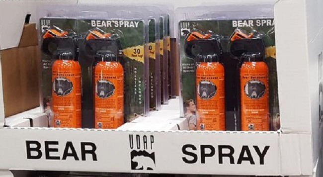 Bear Spray at Costco